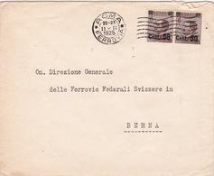 Brief Von Roma Nach Bern (br2496) - Storia Postale