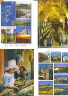 DIVERS BOURGOGNE /  Lot De 45 Cartes Postales Modernes écrites - Cartes Postales