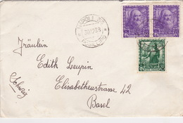 Brief Von Napoli Nach Basel (br2505) - 1900-44 Vittorio Emanuele III