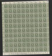Am-Post-Bogen,29cAz,,mit VIII,XVI,xx,gefaltet (M7) - Bizone