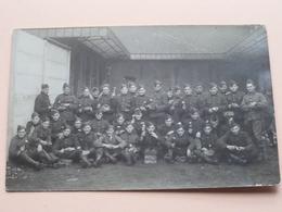 Peloton Soldiers - Soldats - Soldaten ( Bordje : 5 Cie Kampioenen ) Anno 19?? ( Zie Foto's ) ! - Guerre, Militaire