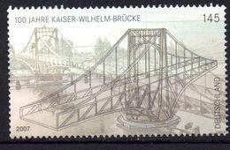 Lot 1 Timbre(s) - N° 2442 - Pont Mobil - Oblitéré - Allemagne - [7] République Fédérale