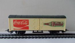 - LIMA - Wagon Couvert - COCA COLA - - Goods Waggons (wagons)