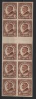 Stati Uniti 1923 Unif.394 Block Of 10 **/MNH VF - Verenigde Staten