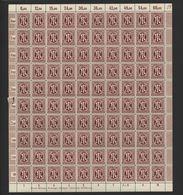 Am-Post-Bogen,33bAz,BT.6,gefaltet,xx (M7) - Bizone