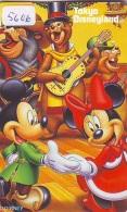 Télécarte Japon / 110-208838 - DISNEY - Disneyland Mickey Minnie Musique Guitare Ours (5606 Japan Phonecard Telefonkarte - Disney