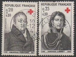 FRANCE 1964    N°1433/1434__OBL VOIR SCAN - France