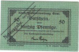 Deutschland Notgeld 50 Pfennig Tieste1810.05.75 ETTAL /111M/ - Lokale Ausgaben