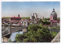 TOULOUSE--Vue Plongeante Sur La Garonne Au Pont Suspendu - Toulouse