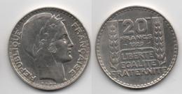 +  FRANCE + 20  FRANCS 1929 + - L. 20 Francs