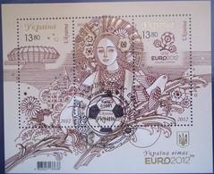 Oekraine Ukraine 2012 Yvertn° Bloc 86 (°) Oblitéré Used Cote 82,30 Euro Sport Football Voetbal - Ukraine
