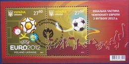 Oekraine Ukraine 2012 Yvertn° Bloc 84 (°) Oblitéré Used Cote 33,70 Euro Sport Football Voetbal - Ukraine