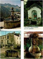 FONTAINES  /  Lot De 60 Cartes Postales Modernes écrites - Cartes Postales