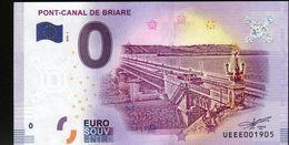 France - Billet Touristique 0 Euro 2018 N° 1905 (UEEE001905/5000) - PONT-CANAL DE BRIARE - EURO