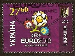 Oekraine Ukraine 2012 Yvertn° 1081 (°) Oblitéré Used Cote 10,10 Euro Sport Football Voetbal - Ukraine