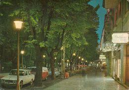 Salsomaggiore Terme (Parma, Emilia Romagna) Viale Romagnosi Notturno, Romagnosi Avenue By Night - Parma