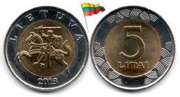 Lituanie - 5 Litai 2013 (UNC - Regular Issue) - Lituania