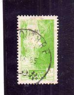 LIBANO LEBANON LIBAN 1955 Jeita Cave GROTTE  10p USATO USED OBLITERE' - Libano