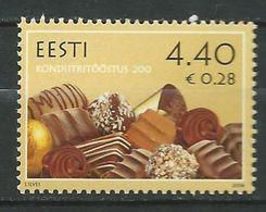 Estonia 2006 The 200th Anniversary Of The Estonian Confectionery Industry.chocolate. MNH - Estland