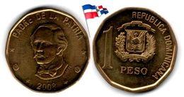 Dominican Republic - 1 Peso 2008 (UNC) - Dominicana