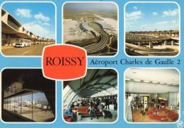 Roissy En France L Aerogare Charles De Gaulle 2  1983 (LOT RA) - Aerodrome