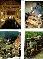TRAVAIL DU BOIS /  Lot De 45 Cartes Postales Modernes écrites - Cartes Postales