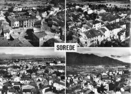 Sorede Mairie Et Vue Generale 1958 (LOT RA) - France