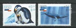 Estonia 2006 Antarctica - Joint Issue Chile & Estonia. MNH - Estonia