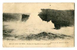 CPA - Carte Postale  - France - Belle Isle En Mer -  Rochers De L'Apothicairerie  - 1924 (CP184) - Belle Ile En Mer