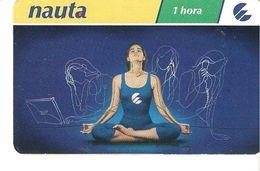CARTE TELEPHONIQUE PREPAYE CUBA  1 HORA HEURE TELECARTE - Cuba