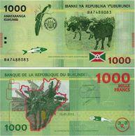 BURUNDI       1000 Francs       P-51       15.1.2015       UNC - Burundi