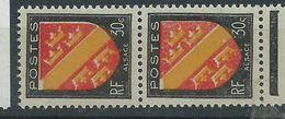 [19] Variété : N° 756 Blason D' Alsace Impression Défectueuse Du Rouge Tenant à Normal ** - Varieties: 1945-49 Mint/hinged