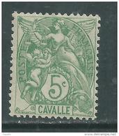 Cavalle N° 10  XX 5 C. Vert-jaune Sans Charnière, TB - Cavalle (1893-1911)