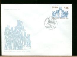 POLSKA - FDC - 1989 - MONUMENTO STATUA - FDC
