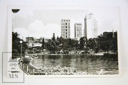 Vintage Real Photo Postcard Belo Horizonte - Brazil - Parque Municipal - Belo Horizonte