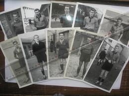 10 Photos Format 9 X 14 Centimètres Football JOUEUR RENNES RENNAIS - Other