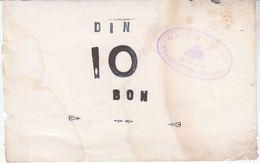 0813   SLOVENIA    BON  10  DIN - Slovenia