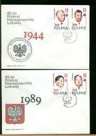 POLSKA - FDC - 1989 - RZECZYPOSPOLITA - FDC