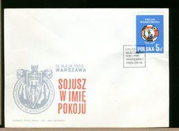 POLSKA - FDC - 1985 - UKLAD WARSZAWSKI - FDC