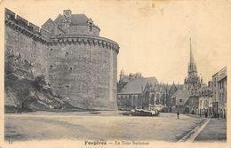 CPA 35 FOUGERES LA TOUR SURIENNE - Fougeres