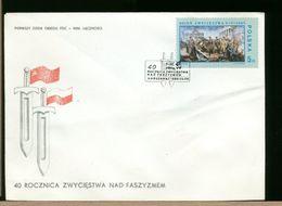 POLSKA - FDC - 1985 - ROCZNICA ZWYCIESTWA - FDC