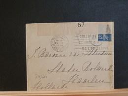 74/260   LETTRE  POUR LA HOLLANDE 1918 CENSURE - Poststempel (Briefe)