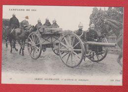 Armée Allemande  -  Artillerie De Campagne - Ausrüstung
