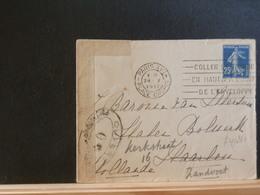 74/261   LETTRE  POUR LA HOLLANDE 1917 CENSURE - Marcofilie (Brieven)