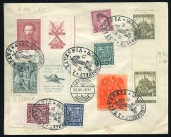 DUNASZERDAHELY 1938. Visszatérés, Dekoratív Boríték - Ungarn