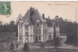 Carte 1910 ARROU / CHATEAU DE LA BRUNETIERE - France