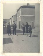 Photo Amateur Jeu De Boules, Pétanque, 1939 - Deportes