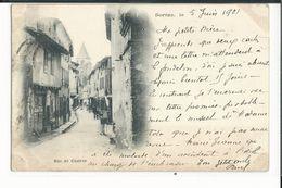 81 SOREZE  RUE DE CASTRES   CARTE PRECURSEUR 1901 - France