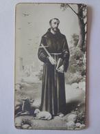 D877-Santino NB 800 S.Franciscus Assisiensis S.Francesco - Images Religieuses