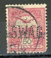 HONGRIE - DIVERS - N° Yvert 50 Obli.  PERFORÉ  SWAG - Ungheria